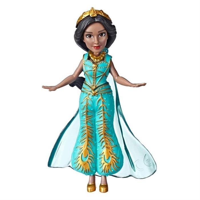 Unisex Çocuk Disney Princess Aladdin Mini Film Figür Jasmine Teal